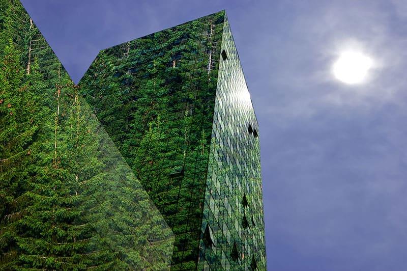 Vihreä pilvenpiirtäjä